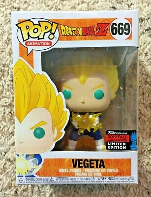 Funko Pop! Vegeta Final Flash Dragonball Z NYCC 2019 Dragon Ball Z #669