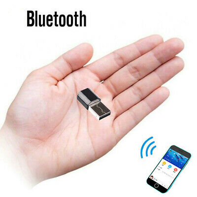 USB Wireless Bluetooth 3.5 mm AUX Audio Stereo Music Receiver Adapter Car Home