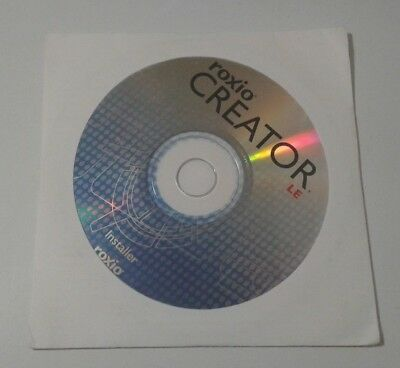 Roxio Creator LE Sonic Solutions CD Dell OEM Edition Microsoft Windows Sealed
