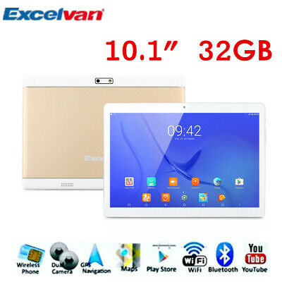 10.1 Pollici 32GB Tablet Pc Bluetooth Android Quad Core Wifi 2Sim 3G Cellulare