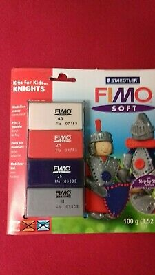 "Staedtler Fimo Soft Materialpackung Modelliermasse Kreativset ""Knights"""