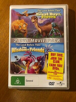 The Land Before Time:The Great Day Of The Flyers/The Wisdom Of Friends DVD Set