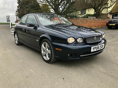 Jaguar X-TYPE 2.0D 2009MY SE cream leather sat nav fsh 12 MONTHS MOT