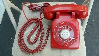 Rotary Western Electric (RED) Telephone 8-70