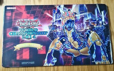 Playmat Grandopolis Yu Gi Oh! Rimini 2014 World Championship Side Event Raro