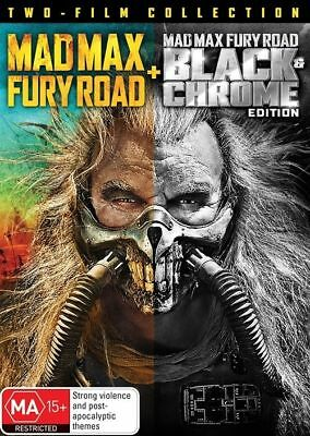MAD MAX - FURY ROAD = black chrome edition DVD=PAL 4 = SEALED = FREE LOCAL POST