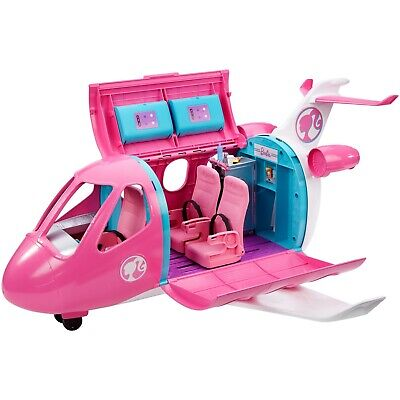 Barbie DreamPlane Playset Toy For Girls Pretend Play With Accessorie Imagination