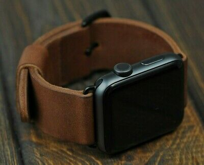 Leather Apple Watch Band 40/44mm 38/42mm Apple Strap for iWatch Series 1 2 3 4 5