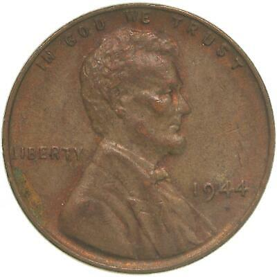 1944 Lincoln Wheat Cent About Uncirculated Penny AU