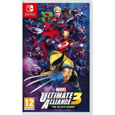 Marvel Ultimate Alliance 3 Black Order Switch Juego Físico Para Nintendo Switch