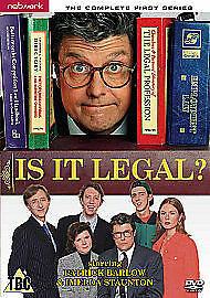 Is It Legal? The Complete First Series [DVD] [1995], New, DVD, FREE & FAST Deliv