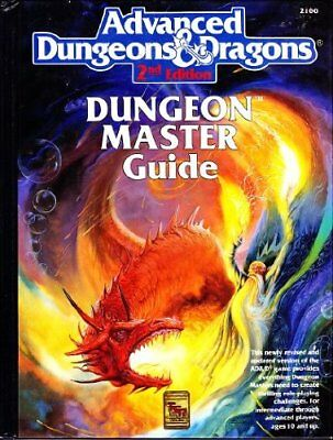 The Dungeon Master Guide, No. 2100, 2nd Edition (Advanced Dungeons and Dragon…