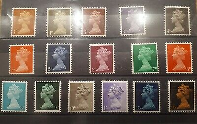 Royal Mail - 1967-1968 Machin Definitives - Mint Never Hinged
