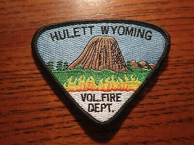 Hulett Wyoming Fire Patch Devil's Tower
