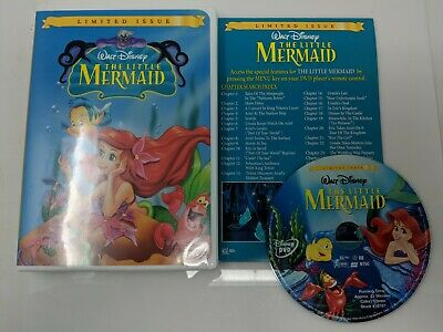 The Little Mermaid (Limited Issue) DVD