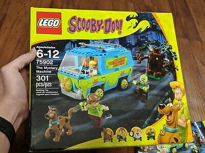 LEGO 75902 - Scooby-Doo The Mystery Machine - Complete w/ Figs & Manuals!!