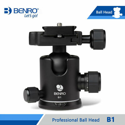 Benro B1 Video Head Magnesium Tripod Head Dual Action Ball Head