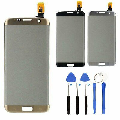 Gold For Samsung Galaxy S7 Edge G935 Touch Screen Digitizer Glass + Tools  VS99