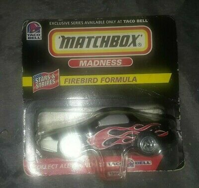 Matchbox Madness Firebird Formula Taco Bell Exclusive New in Package
