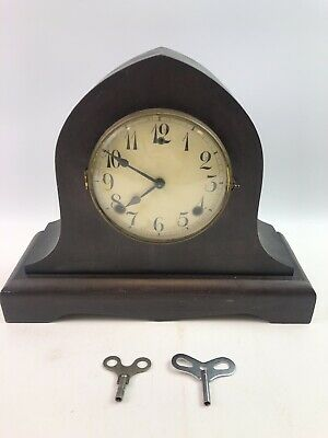 Antique Mantle Steeple Style Clock Bell, Chime Made In USA