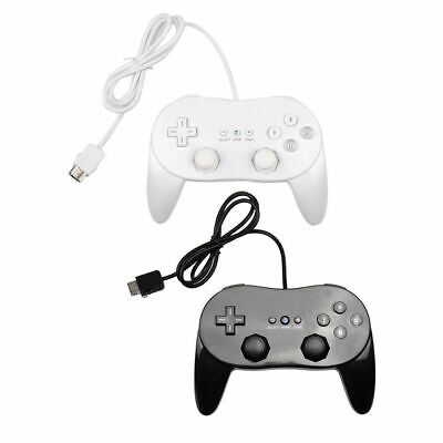 Wired Classic Game Controller Gamepad Joypad Remote for Nintendo Wii Console