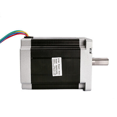 Nema34 86BYGH stepper motor 1232oz.in 5.6A bipolar 4wires 116mm 34HS1456 CNC KIT