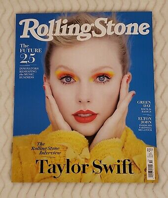 *Taylor Swift*  Rolling Stone October, 2019 cover. FREE US SHIP! * Lover * RARE!