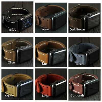 Handmade Apple Watch Band 40/44mm 38/42mm Apple Strap for iWatch Series 5 4 3 2