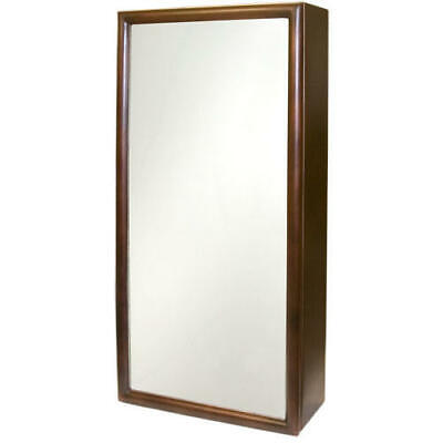 Signature Hardware Copper Medicine Cabinet with Mirror in Antique Copper