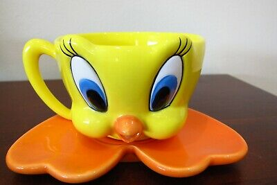 Vintage Collectible Tweety Bird Cup & Saucer - listing 2