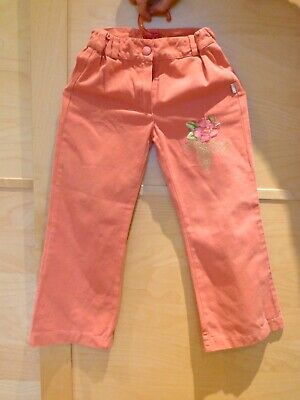 Girls pink trousers size 110cm