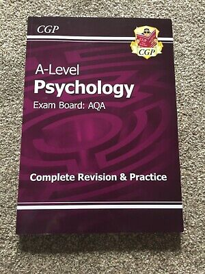 A level psychology: AQA Year 1 and 2 Complete Revision Guide