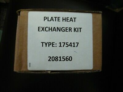 Genuine Ideal Plate Heat Exchanger 175417 New With Screws And Seals