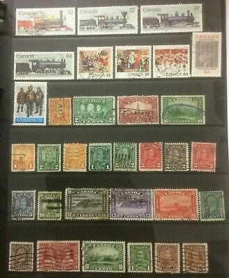 Canada 1928-1985 Used Selection Odd Fault