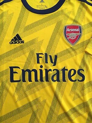 * RRP: £55 * - Arsenal Adidas Away Shirt 2019/20 Football Mens L - BEST SELLER!