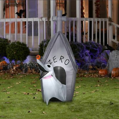 5' Zero with Doghouse Airblown Halloween Inflatable New