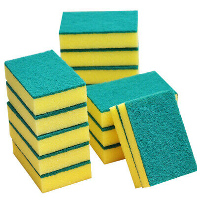 Sponge Cleaning Dish Washing Catering Scourer Scouring Pads Kitchen