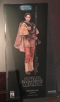 Sideshow Collectibles Star Wars 1/6 Scale 12 Inch Princess Leia As Boushh