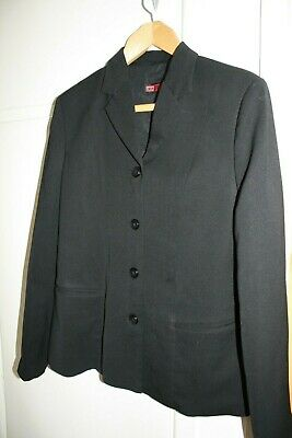 Ladies Large Black Diesel Jacket / Blazer