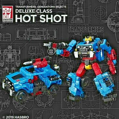NYCC 2019 Transformers Generations HOT SHOT & Pin Entertainment Earth New Toy