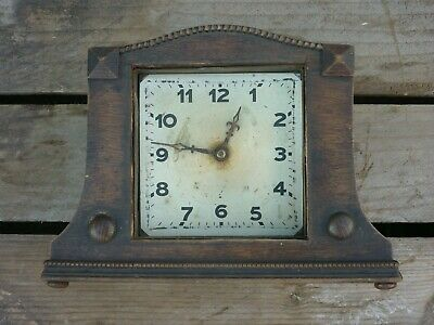 Old Clock As Found For Parts Art Deco