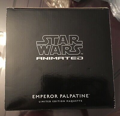 Gentle Giant Ltd Star Wars Animated Emperor Palpatine LE Maquette