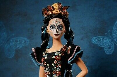 Barbie Dia De Los Muertos Doll 2019 Day of The Dead Barbie (Product In Hand)