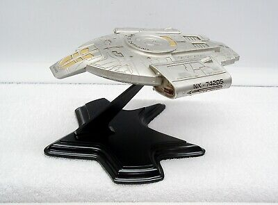 FRANKLIN MINT STAR TREK Pewter USS DEFIANT NX-74205 (1997)