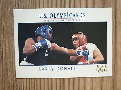 US Olymp Cards Larry Donald Boxen OS 1992 Nr. 24 Trading Card