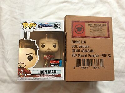Funko POP! Marvel Iron Man Gauntlet #528 2019 NYCC Shared Exclusive In Hand