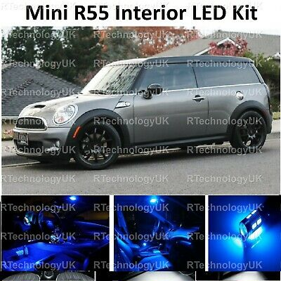 For Mini Cooper S JCW R56 Blue LED /'Trade/' Wide Angle Side Light Beam Bulbs Pair