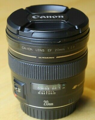 Canon EF 20 f2.8 USM, very good condition