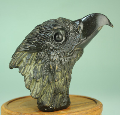 China old Collectible Decorated Handwork Bronze Sculpture eagle statue Ac02D