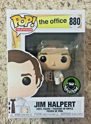 Funko Pop! The Office Jim Halpert 3 Three Hole Punch Exclusive #880